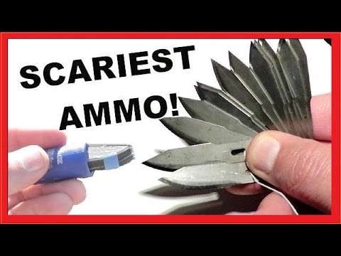 World's SCARIEST Ammo? -  The