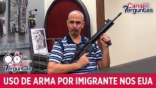 image of Imigrante pode ter arma de forma legal nos EUA?✔
