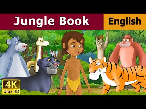 Jungle Book in English | Stories for Teenagers | English Fairy Tales