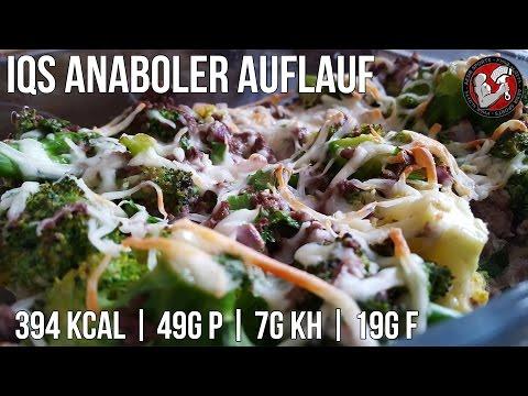 Anaboler Auflauf | Low Carb Rezept