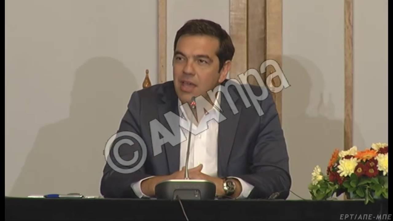 Αλ. Τσίπρας: Ελλάδα-Βουλγαρία μπορούν να αποτελέσουν έναν πόλο σταθερότητας