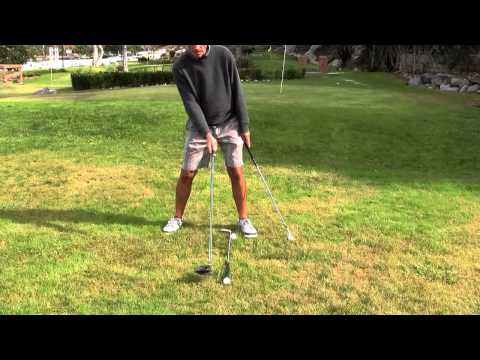 Golf Lessons La Jolla – Setup / Address – one ball inside left heel – Mike Wydra