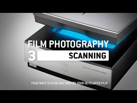 Film Photography Intro Pt.3: Scanning