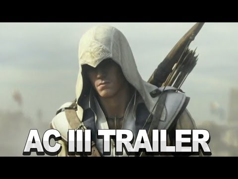 cg - Watch a cinematic trailer for Assassin's Creed 3 then leave us a comment below telling us what you think. Horses, cannons, guns and plenty of action abound! ...