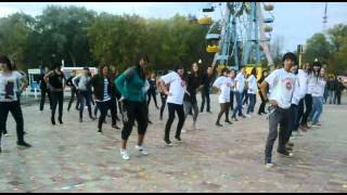 Uralsk Kazakhstan  city images : Flash mob in the central park of Uralsk,Kazakhstan!Happy birthday Uralsk!!!!