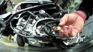 6. Honda Ruckus Variator Roller weight install