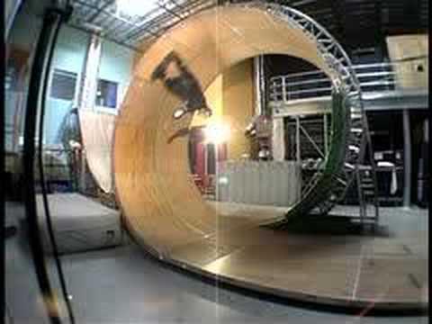 A Gigantic Circular Skateboard Violates Riding Laws 9X Over
