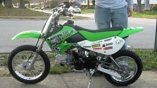 9. 2007 Kawasaki KLX110