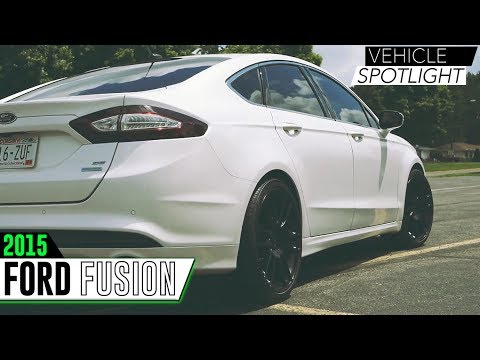 Vehicle Spotlight - 2015 Ford Fusion | KMC 696 Pivot