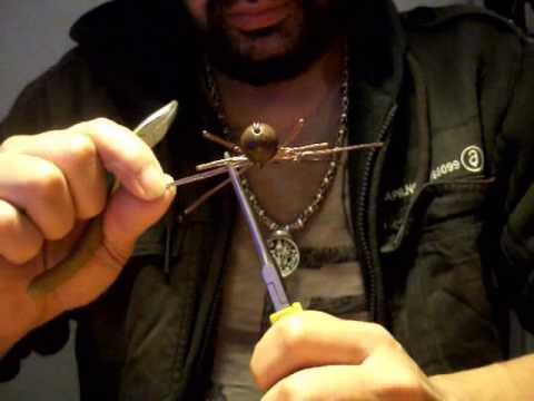 como hacer una araña de alambre