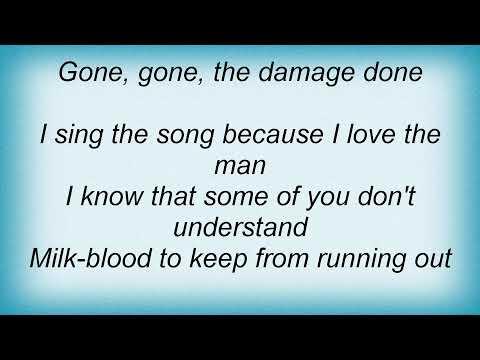 Simple Minds - The Needle And The Damage Done Lyrics