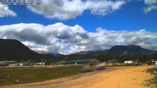 2014-08-20 - Estes Park Fairgrounds West Time-Lapse