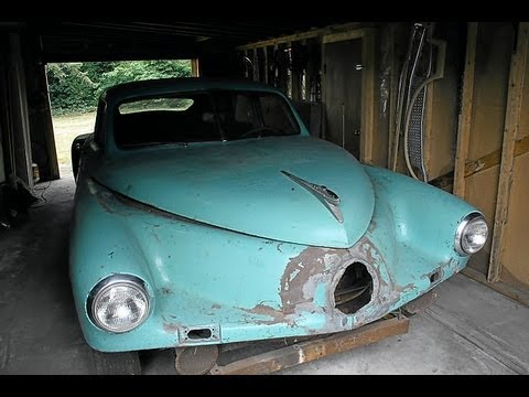automobile - 1948 Tucker Automobile Number 10. Hidden away in a damp, musty old garage in Auburn, WA, unfairly sentenced to nearly 60 years of deplorable solitude, painfu...
