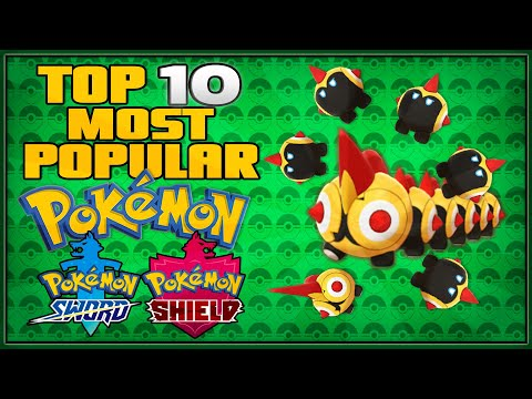 Top 10 Most Popular PokГmon for PokГmon Sword and Shield