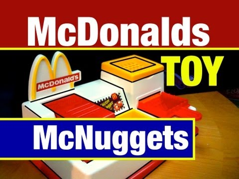 mcdonalds - McDonalds Toy McNugget Maker Playset. A Vintage McDonalds 1993 Snack Food Maker Toy Review by Mike Mozart of TheToyChannel on YouTube. Mike Mozart's second M...