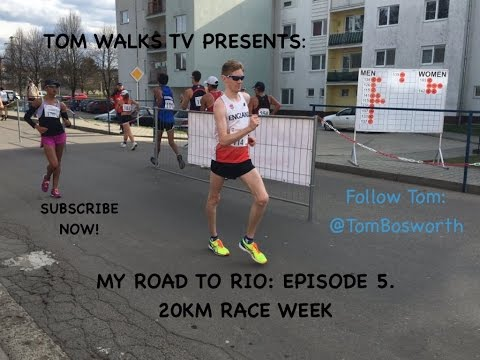 My Road To Rio: Episode 5. Slovakian Race Walk Adventures
