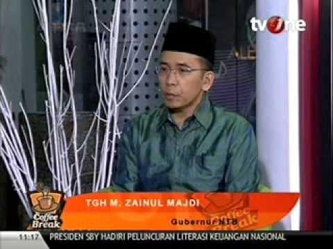TGH Zainul Majdi - Coffe Break TV One | Part 2