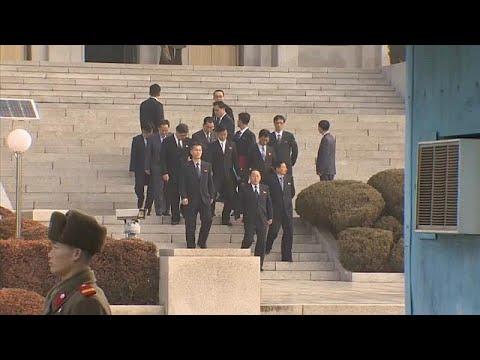 Olympia: Nord- und Südkorea setzen Gespräche fort