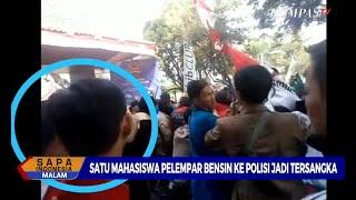 Video Satu Mahasiswa Pelempar Bensin ke Polisi Jadi Tersangka MP3, 3GP, MP4, WEBM, AVI, FLV Agustus 2019
