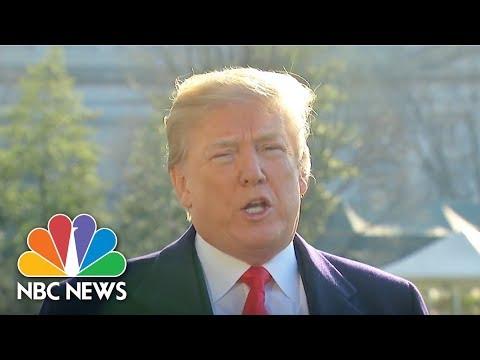President Donald Trump Explains His Decision To Fire Rex Tillerson   NBC News
