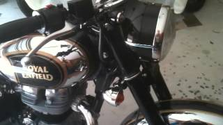 9. 2015 Black and Chrome C5 Royal Enfield Mods