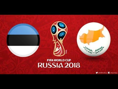 Estonia vs Cyprus 1 0 All Goals & Highlights World Cup Qualification 3/ 9/ 2017