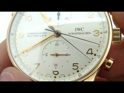 iwc portugieser - Buy this watch at http://www.keepthetime.com/index.php?main_page=product_info&cPath=2&products_id=290 IWC Portugieser Rattrapante split-second chronograph wa...