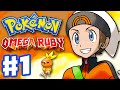 Pokemon Omega Ruby And Alpha Sapphire Gameplay Walkthro