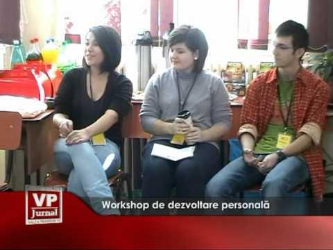 Workshop de dezvoltare personală