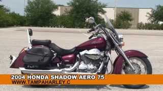 10. Used 2004 Honda Shadow Aero 750 Motorcycles for sale - Ft. Lauderdale, FL