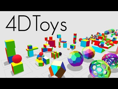 4D Toys, an interesting demonstration on a representation of fourth dimensional objects through the use of virtual reality.