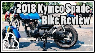 5. 2018 Kymco Spade 150 - Bike Review