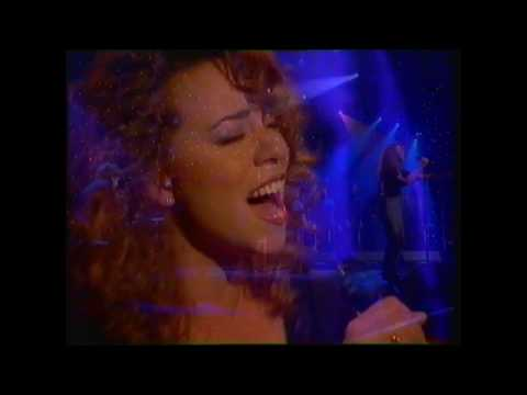 Mariah Carey -  I'll Be There - Top Of The Pops 1992 -Actual show - highest new entry