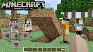 PALS SECRET MINECRAFT POCKET EDITION HOUSE!? (The Pals Minecraft)
