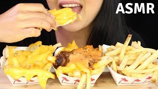 Asmr In-N-Out ANIMAL STYLE FRIES Messy Eating Sounds -HUNGRY CAKES