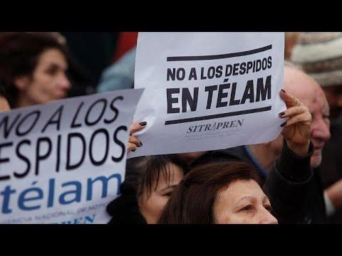 Αργεντινή: Xιλιάδες άνθρωποι στους δρόμους κατά της λιτότητας και του ΔΝΤ…
