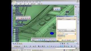 CATIA V5 - NC - Extract Surface and Axis System