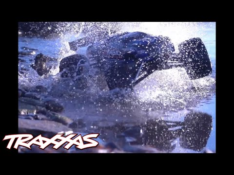 Traxxas E-Revo Brushless Edition – Now with Waterproof Electronics!