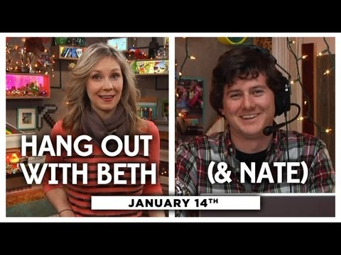 My Damn Channel - Beth is doing a good ol' sit down and answering your questions! And don't forget—we have a huge show this Wednesday with DailyGrace, Hannah Hart, Shannon Cof...