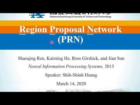 quarter CNN: Region Proposal Network (RPN)