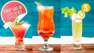 3 Clifftop Cocktails: Out of the City by SORTEDfood