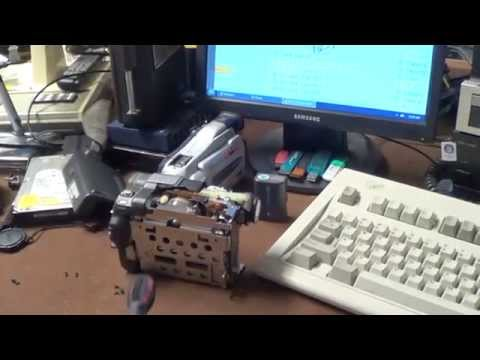 Kitchen Table Electronics Repair: Sony DCR-TRV280 Handycam Swing Out Display