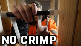 Mind Blowing Pex Install   No Crimp Expandable Uponor   Home Renovation #55