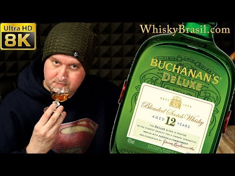 Whisky Brasil 63: Buchanan's 12 DeLuxe Review [8K]