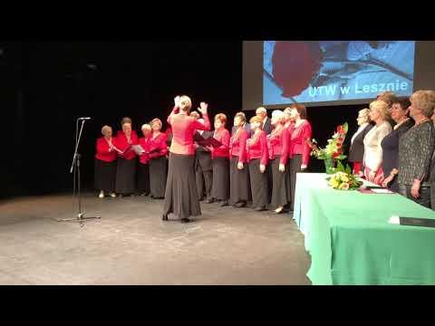 Wideo1: Gaudeamus igitur w wykonaniu Chóru UTW w Lesznie