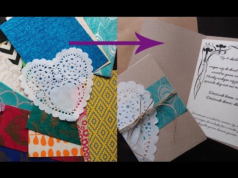 Wedding invitations – DIY