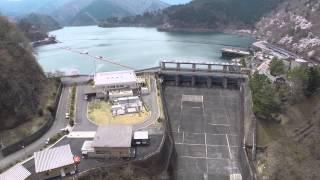 空撮 / 小河内ダム 奥多摩湖