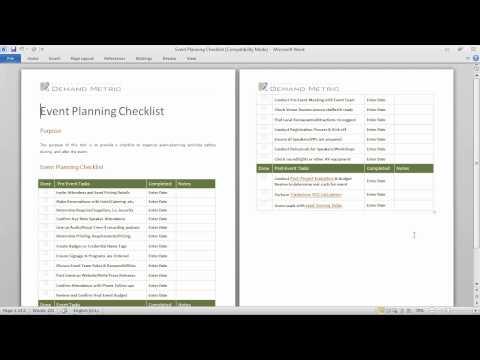 Event Planning Worksheets Event Planning Worksheet