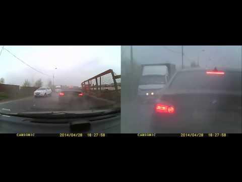 Авария с БМВ в Москве