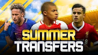 SUMMER TRANSFERS! w/ REAL MADRID CLOSING IN ON MBAPPE! - FIFA 18 ULTIMATE TEAM Make sure to click that ...